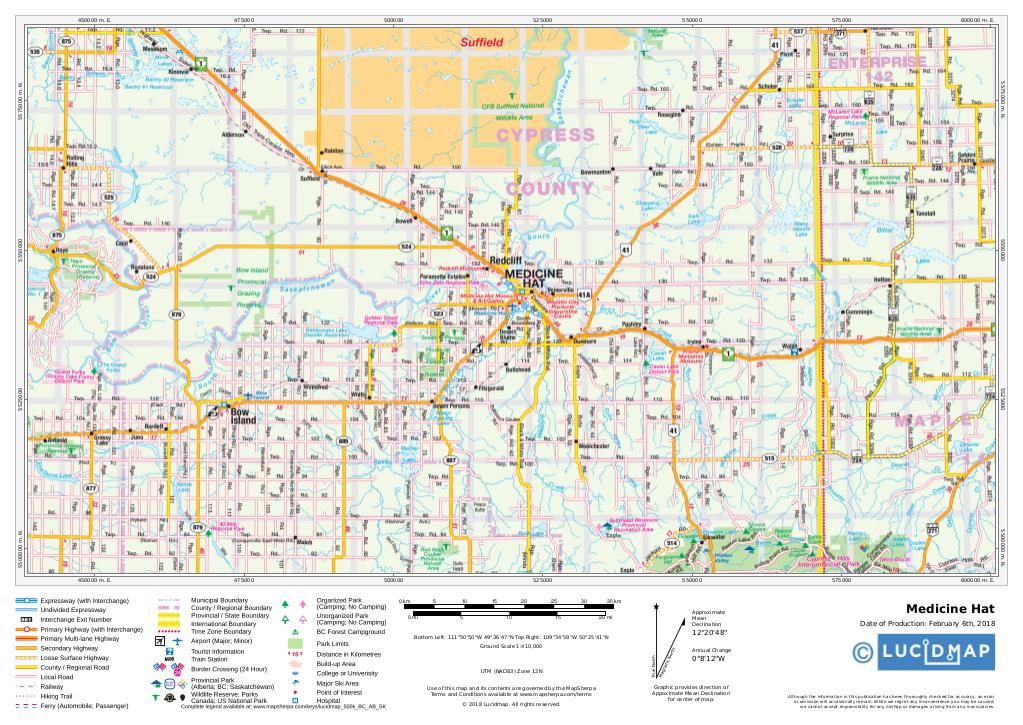 Southern Alberta and Saskatchewan