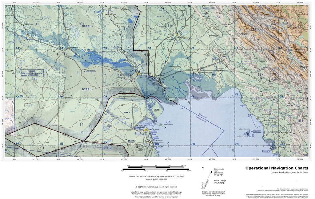 Operational Navigation Charts