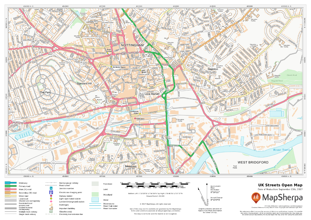 UK Streets Open Map