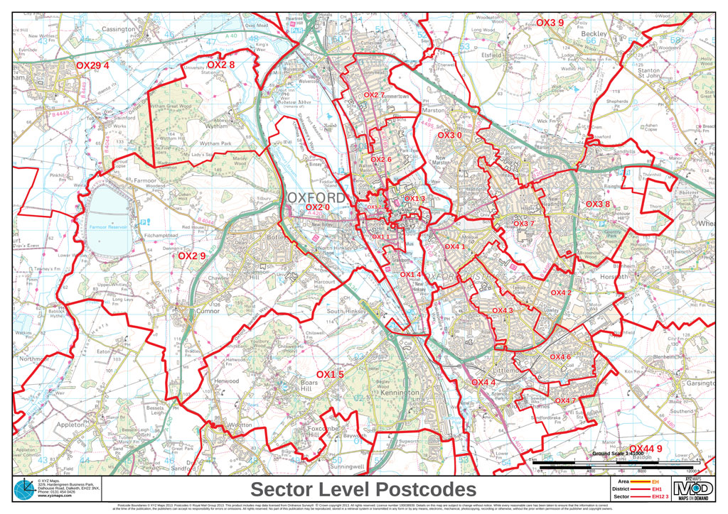 UK Postcode Sectors