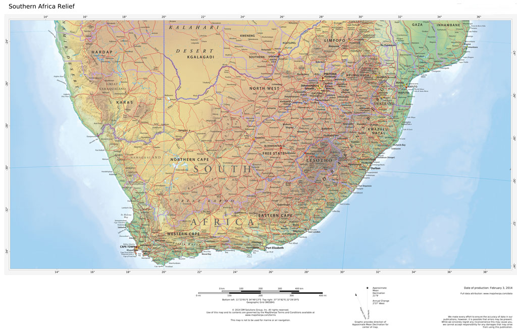 Regional Relief - Southern Africa